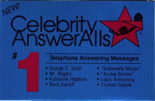 Celebrity Answering Machine Messages | Cracked.com
